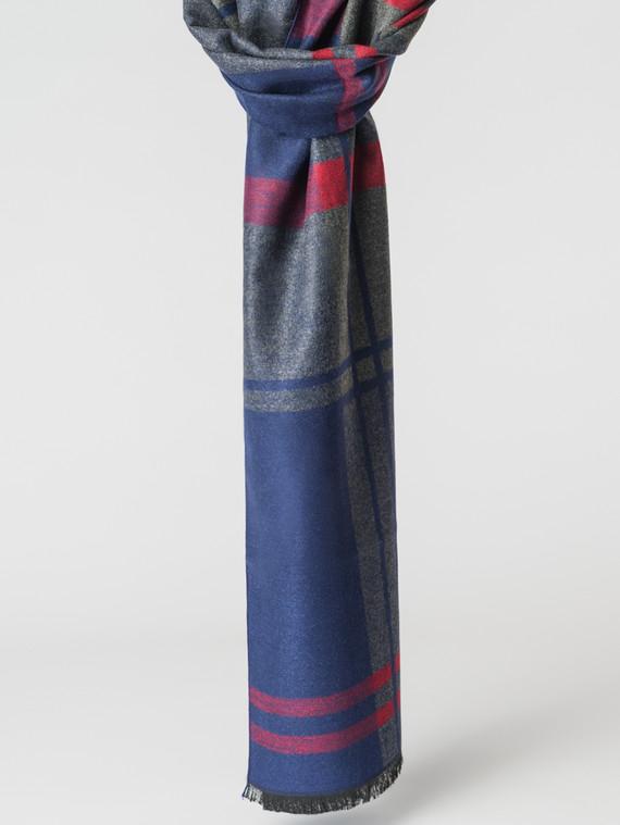 Шарф 100% кашемир, цвет синий, арт. 15007166  - цена 1130 руб.  - магазин TOTOGROUP