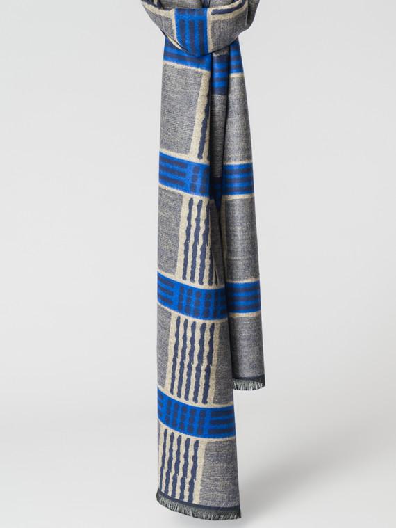 Шарф 100% кашемир, цвет синий, арт. 15007488  - цена 990 руб.  - магазин TOTOGROUP