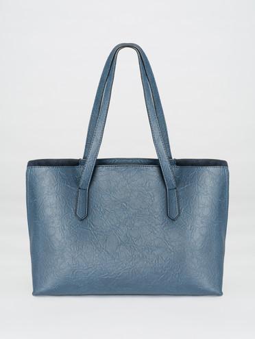Сумка эко-кожа 100% П/А, цвет синий, арт. 15007712  - цена 1750 руб.  - магазин TOTOGROUP