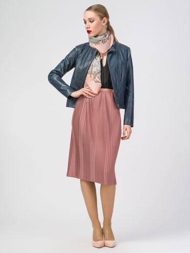 Кожаная куртка кожа , цвет синий, арт. 15106210  - цена 9990 руб.  - магазин TOTOGROUP