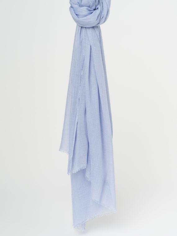 Шарф 100% бамбук, цвет синий, арт. 15107795  - цена 990 руб.  - магазин TOTOGROUP