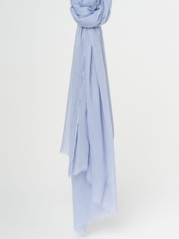 Шарф 100% бамбук, цвет синий, арт. 15107795  - цена 940 руб.  - магазин TOTOGROUP