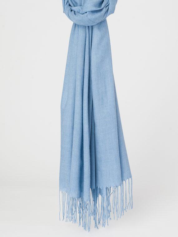 Шарф 100% хлопок, цвет синий, арт. 15107796  - цена 740 руб.  - магазин TOTOGROUP