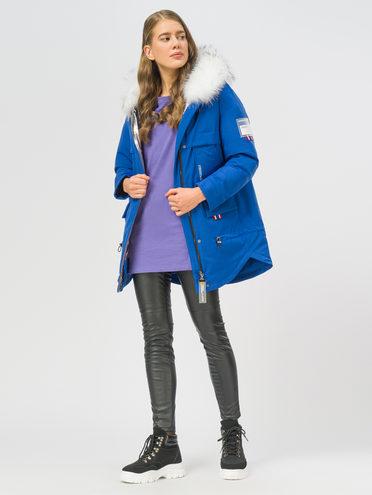Пуховик 100% полиэстер, цвет синий, арт. 15108628  - цена 12690 руб.  - магазин TOTOGROUP