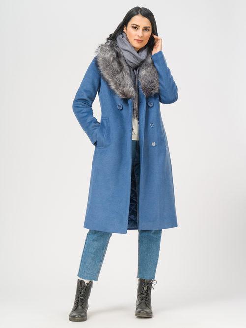 Текстильное пальто артикул 15109097/42 - фото 2