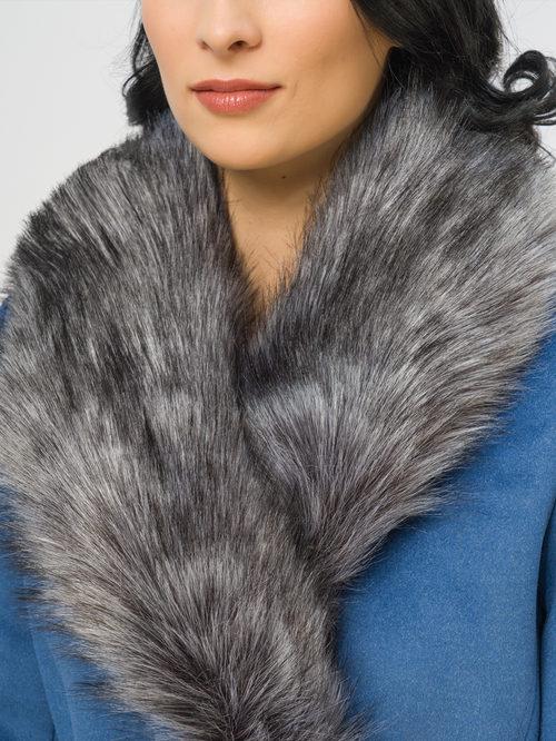 Текстильное пальто артикул 15109097/42 - фото 4
