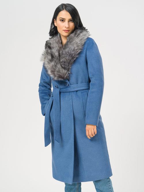 Текстильное пальто артикул 15109097/42