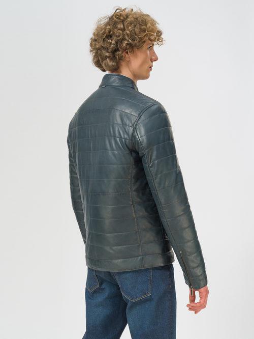 Кожаная куртка артикул 15109530/48 - фото 3