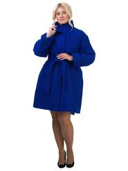 Текстильное пальто артикул 15602436/46 - фото 2