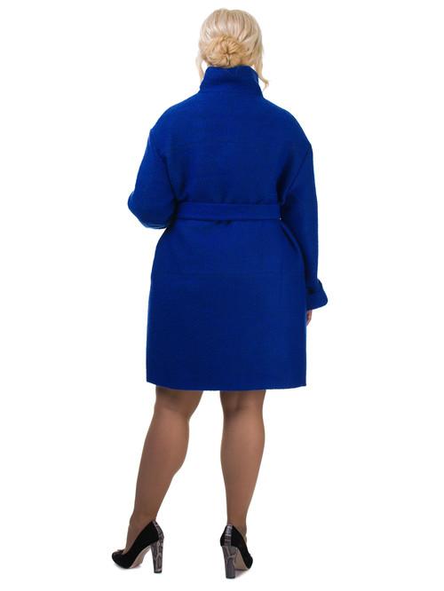 Текстильное пальто артикул 15602436/46 - фото 3