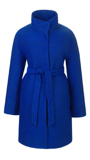 Текстильное пальто артикул 15602436/46 - фото 5