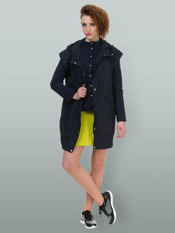 Ветровка текстиль, цвет темно-синий, арт. 15700089  - цена 4740 руб.  - магазин TOTOGROUP