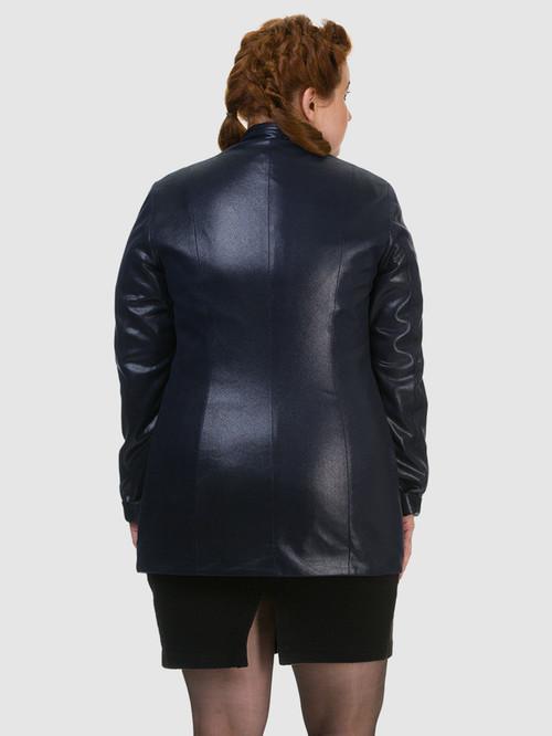 Кожаная куртка артикул 15700169/46 - фото 3