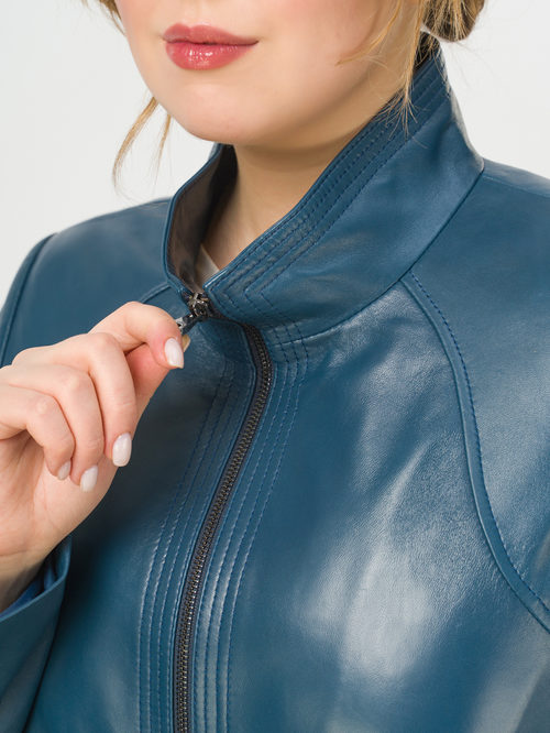 Кожаная куртка артикул 15802493/52 - фото 4