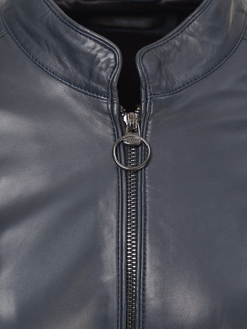 Кожаная куртка артикул 15809205/50 - фото 3