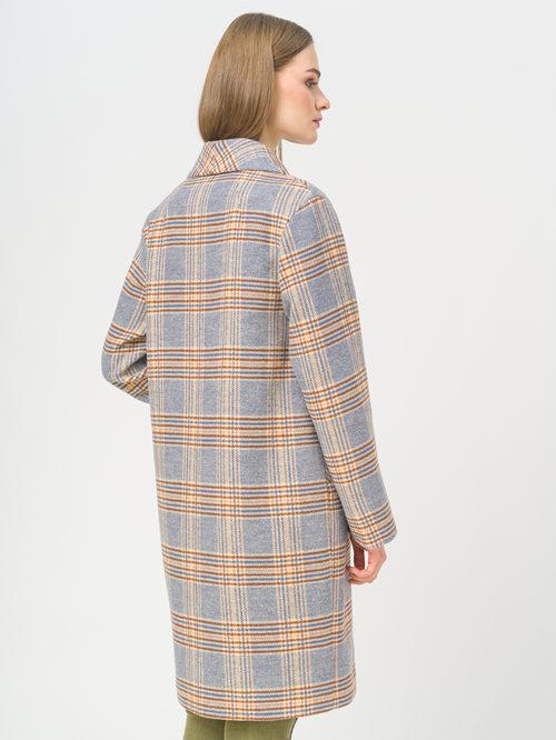 Текстильное пальто артикул 15809283/44 - фото 3