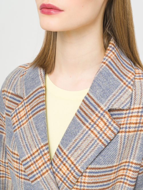 Текстильное пальто артикул 15809283/44 - фото 4