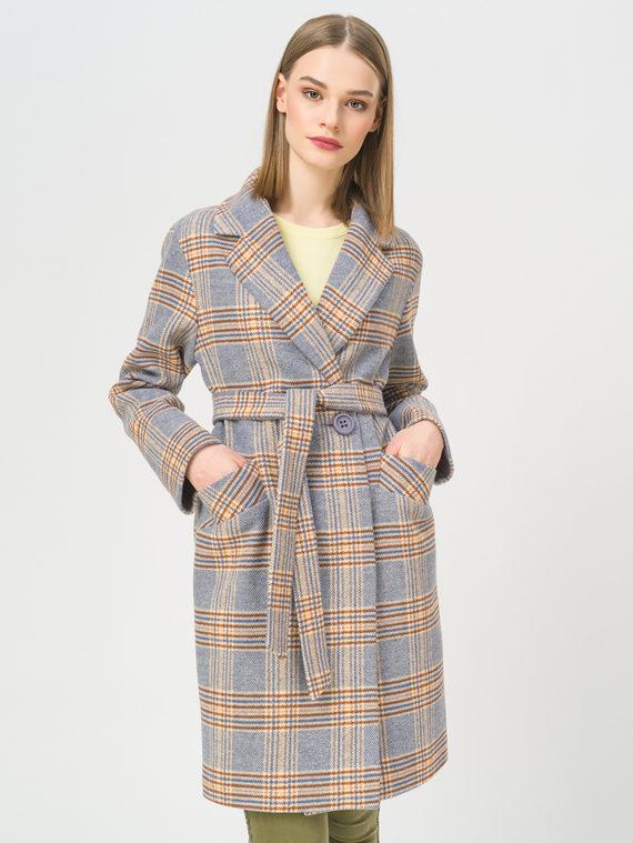 Текстильное пальто , цвет синий, арт. 15809283  - цена 6990 руб.  - магазин TOTOGROUP
