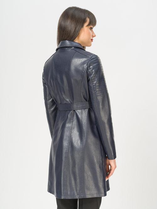 Кожаное пальто артикул 15809897/40 - фото 3