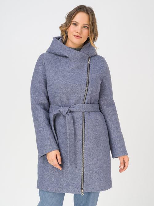 Текстильное пальто артикул 15810655/54 - фото 2