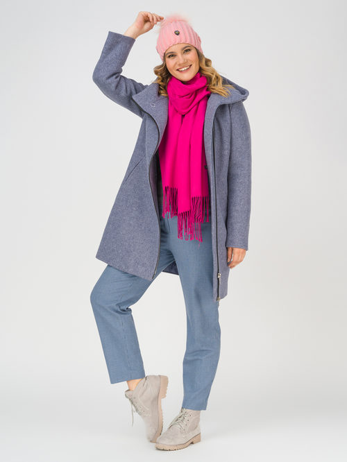 Текстильное пальто артикул 15810655/54