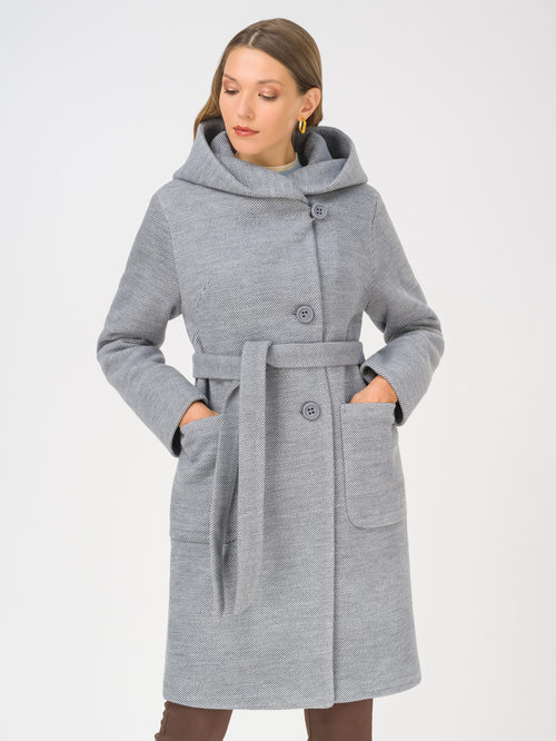 Текстильное пальто артикул 15810659/42 - фото 2