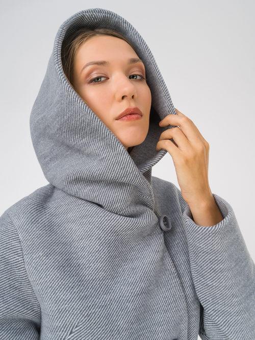Текстильное пальто артикул 15810659/42 - фото 3