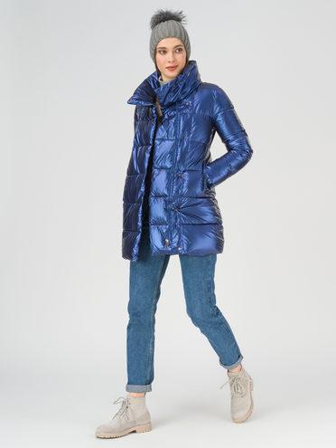 Пуховик 100% полиэстер, цвет синий, арт. 15810698  - цена 4990 руб.  - магазин TOTOGROUP