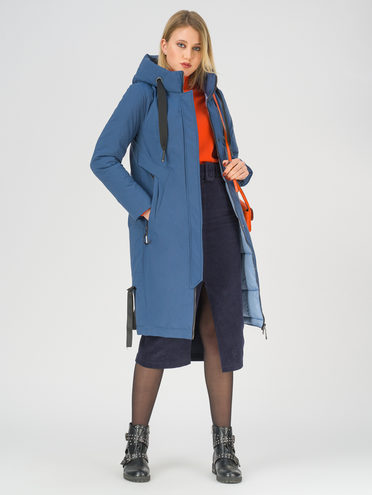 Пуховик 100% полиэстер, цвет синий, арт. 15811099  - цена 5890 руб.  - магазин TOTOGROUP