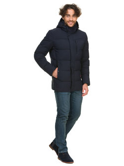 Пуховик текстиль, цвет синий, арт. 15900723  - цена 6630 руб.  - магазин TOTOGROUP