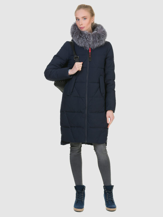 Пуховик текстиль, цвет синий, арт. 15900947  - цена 6990 руб.  - магазин TOTOGROUP