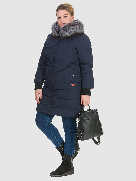 Пуховик текстиль, цвет синий, арт. 15900982  - цена 6990 руб.  - магазин TOTOGROUP