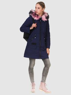 Пуховик текстиль, цвет синий, арт. 15901014  - цена 5890 руб.  - магазин TOTOGROUP