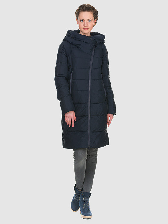 Пуховик текстиль, цвет синий, арт. 15902672  - цена 5890 руб.  - магазин TOTOGROUP