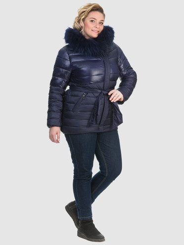 Пуховик текстиль, цвет синий, арт. 15902676  - цена 6990 руб.  - магазин TOTOGROUP