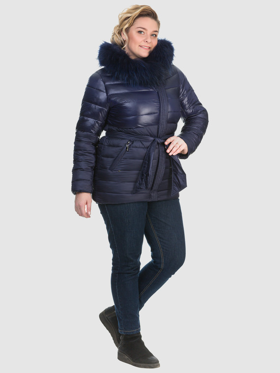 Пуховик текстиль, цвет синий, арт. 15902676  - цена 3990 руб.  - магазин TOTOGROUP