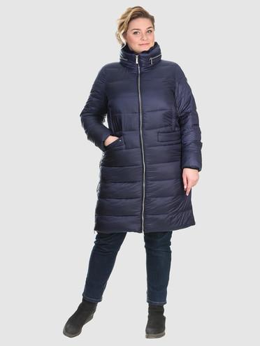 Пуховик текстиль, цвет синий, арт. 15902680  - цена 6990 руб.  - магазин TOTOGROUP