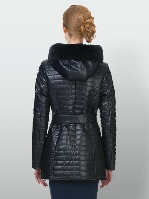 Кожаная куртка артикул 15902725/42 - фото 3