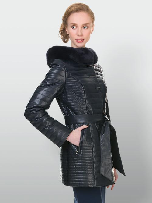 Кожаная куртка артикул 15902725/42 - фото 4