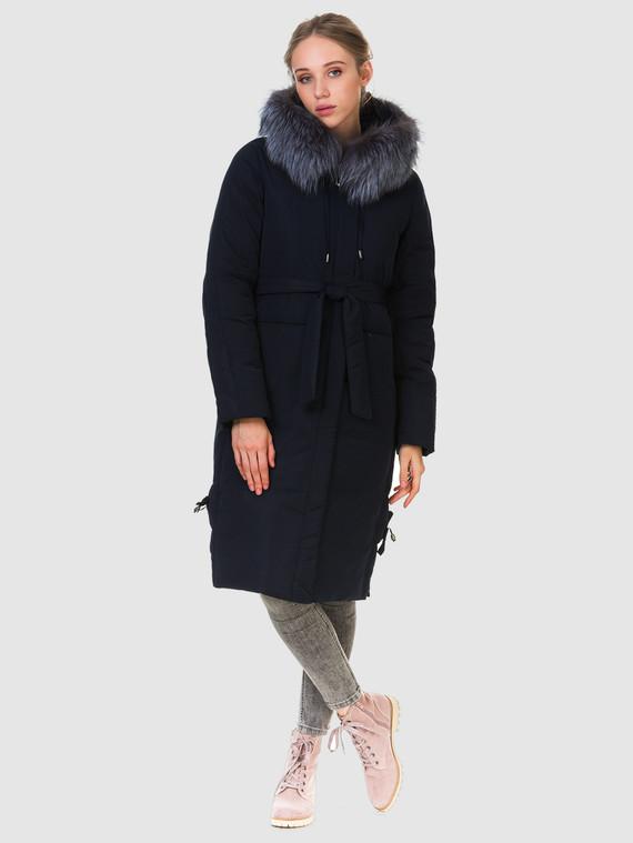 Пуховик текстиль, цвет синий, арт. 15902832  - цена 6990 руб.  - магазин TOTOGROUP