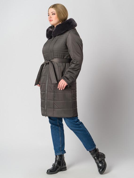 Пуховик текстиль, цвет темно-коричневый, арт. 16006463  - цена 14990 руб.  - магазин TOTOGROUP