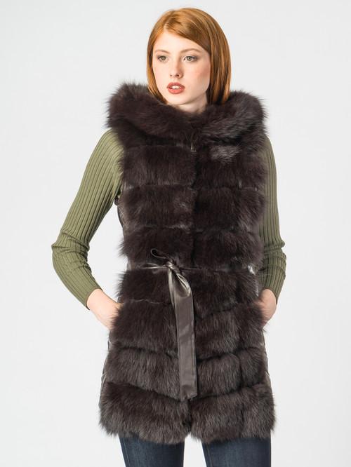 Кожаная куртка артикул 16007012/42 - фото 4