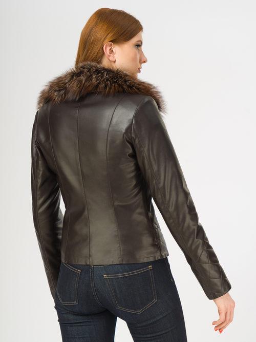 Кожаная куртка артикул 16108569/42 - фото 3