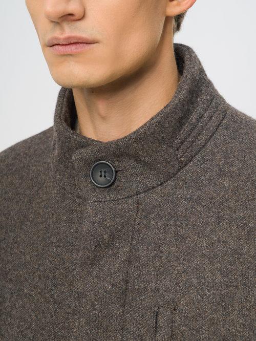 Текстильное пальто артикул 16108966/48 - фото 4