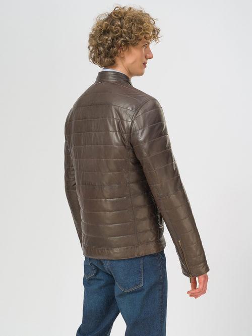 Кожаная куртка артикул 16109530/48 - фото 3