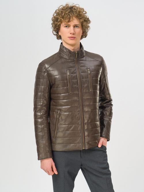 Кожаная куртка артикул 16109531/48 - фото 2