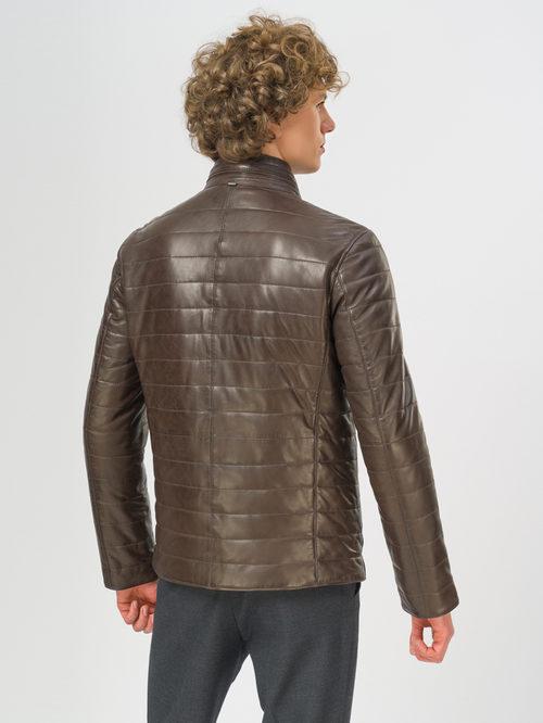 Кожаная куртка артикул 16109531/48 - фото 3