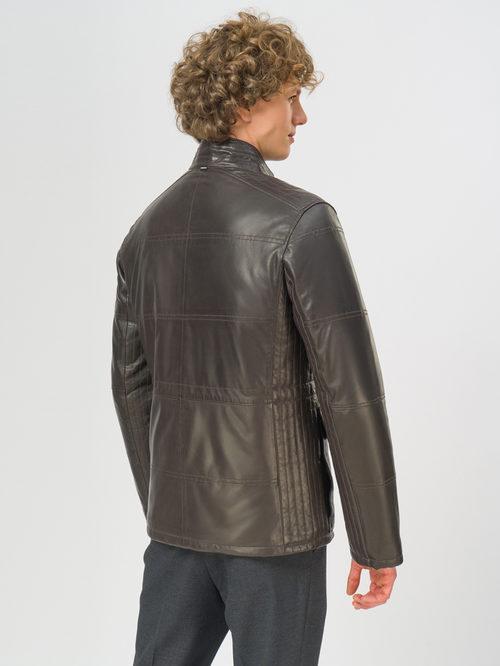 Кожаная куртка артикул 16109532/48 - фото 3