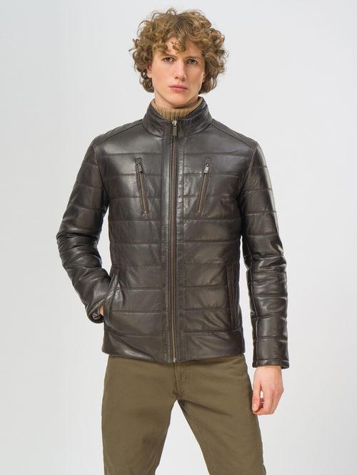 Кожаная куртка артикул 16109540/48