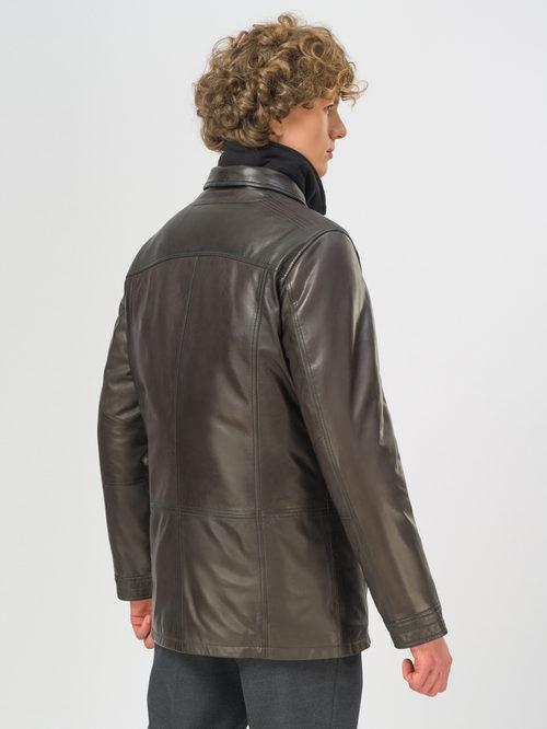 Кожаная куртка артикул 16109543/50 - фото 3